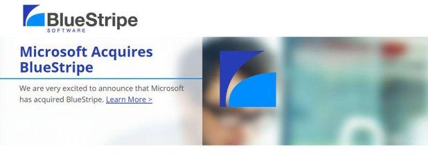 Microsoft compra Bluestripe