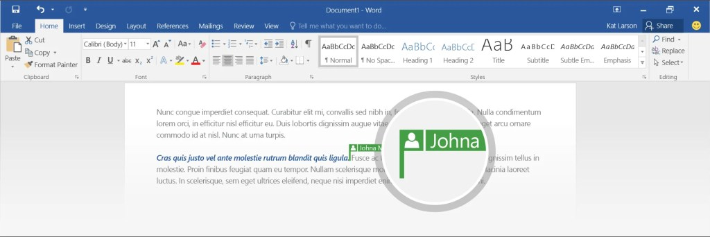 Preview real time co-authoring on OneDrive