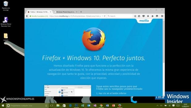 firefox para Windows 10