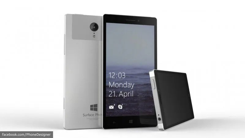 Surface Phone - Concepto