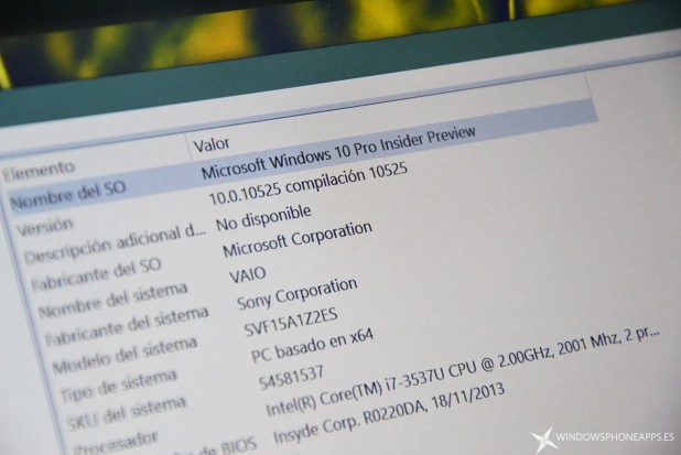windows 10 insider build 10525