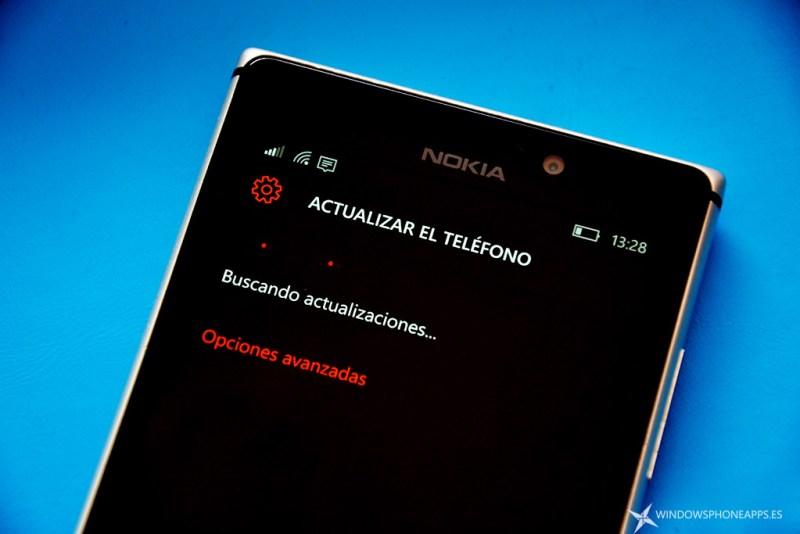 buscando actualizaciones windows 10 mobile