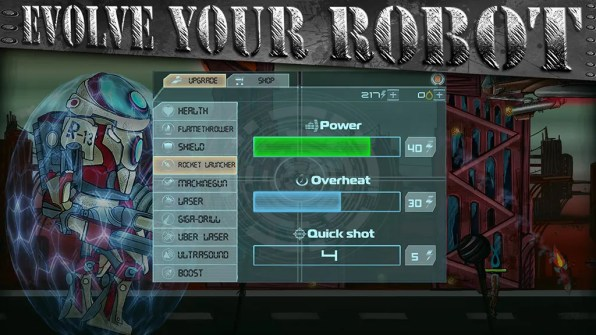 robot conqueror captura