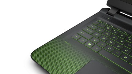 HP Pavilion Gaming Notebook_keyboard detail