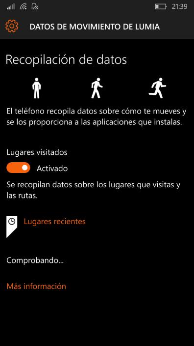 Datos de movimiento de Lumia (1)