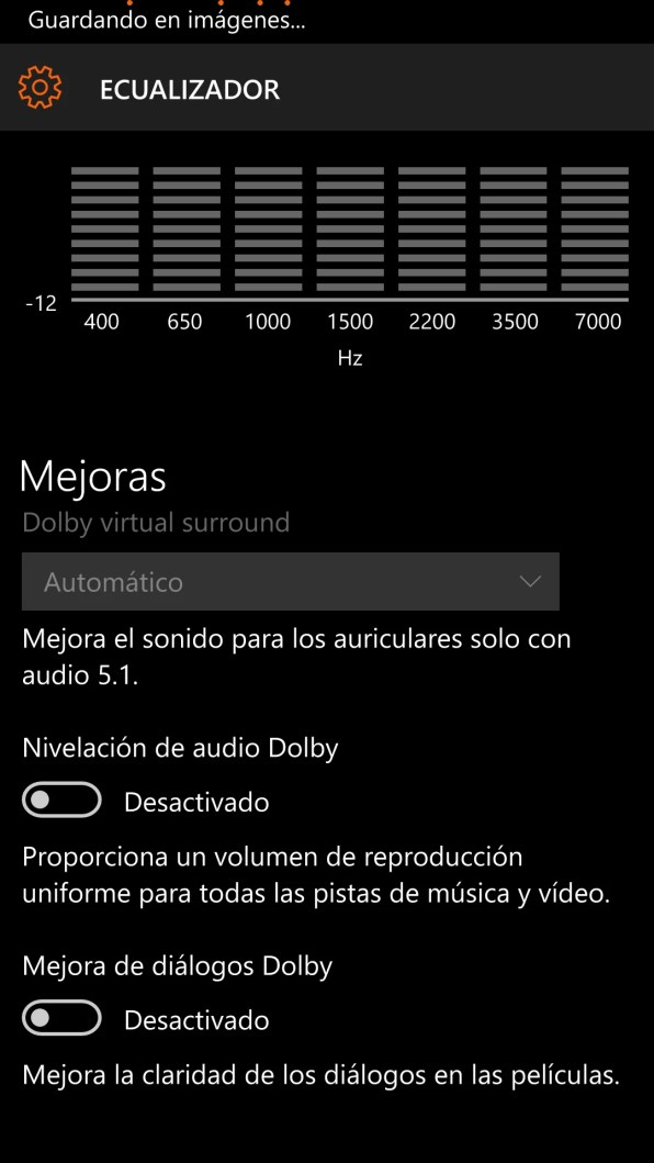 Ecualizador en Windows 10 Mobile (2)