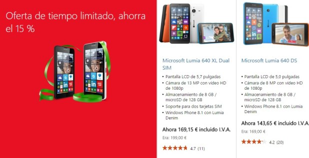 black friday lumia 640