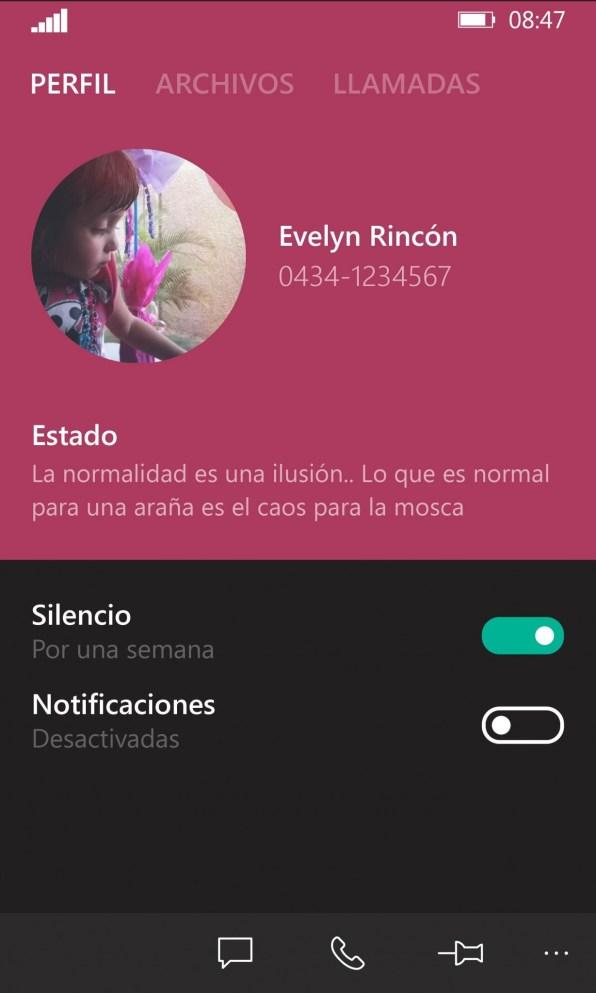 Whatsapp concepto
