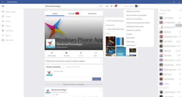 facebook beta PC windows 10 4