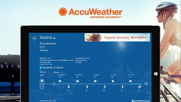 AccuWeather pc