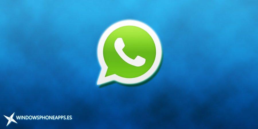 WhatsApp nueva portada