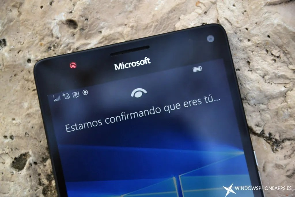 lumia 950 XL - Windows Hello
