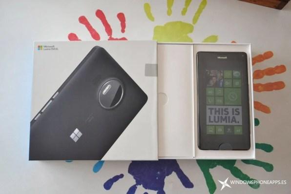 lumia 950 xl - caja 2