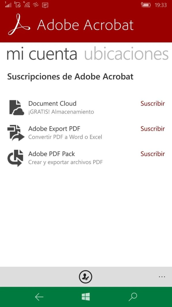 Adobe Acrobat Readr Captura 2