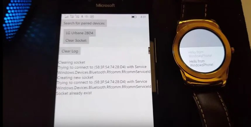 android wear windows