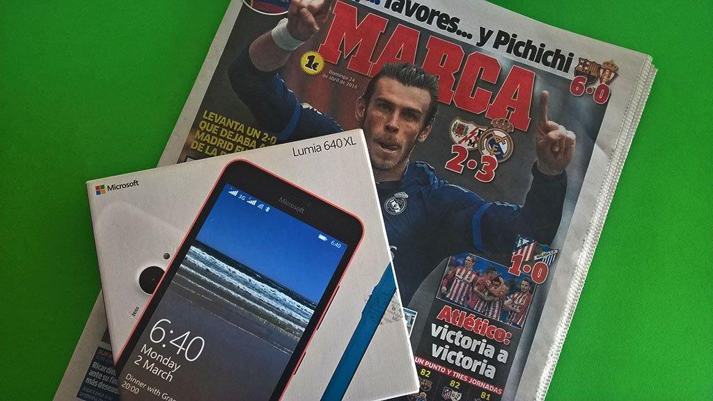 marca lumia 640