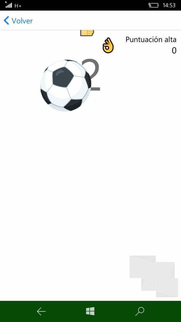 Messenger Beta Juego Futbol