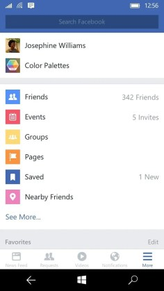 facebook movil 4