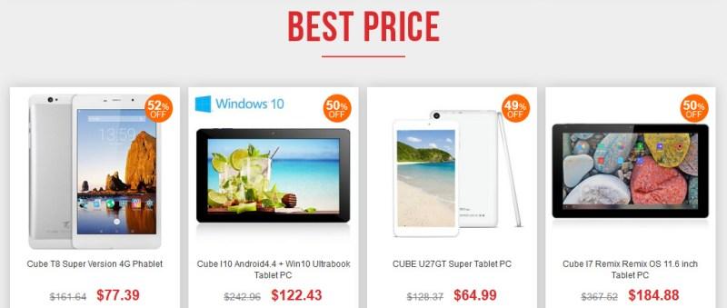 Mejores-precios-tablets-Cube-en-Gearbest