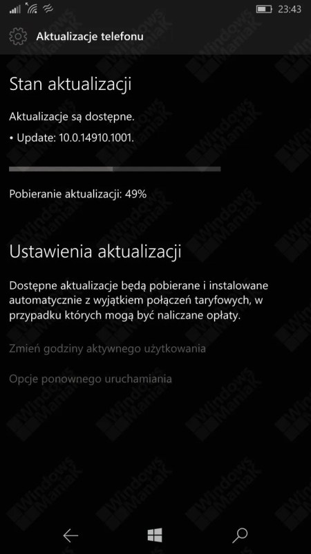 14910 Windows 10 Mobile