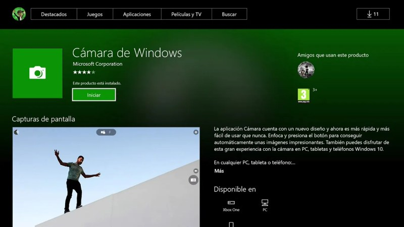 Cámara de Windows Xbox-4