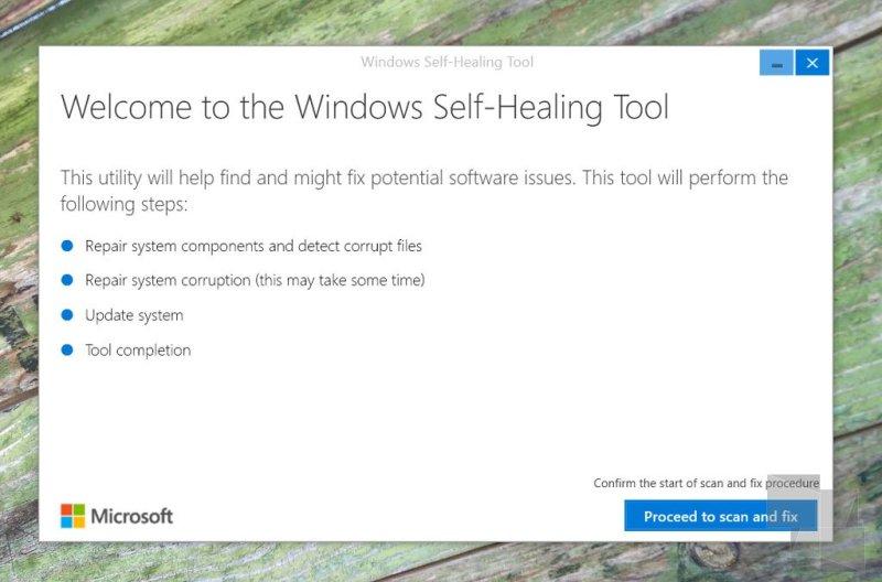 windows-self-healing-tool