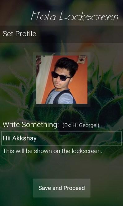 Hola Lockscreen 1