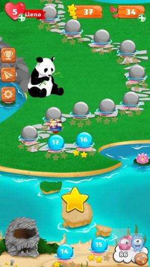 Bubble Guriko mapa 1