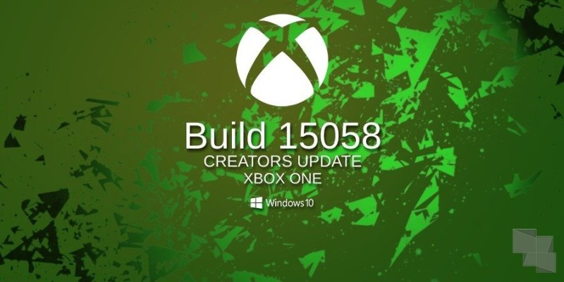 Build 15058 Xbox One Insider Preview