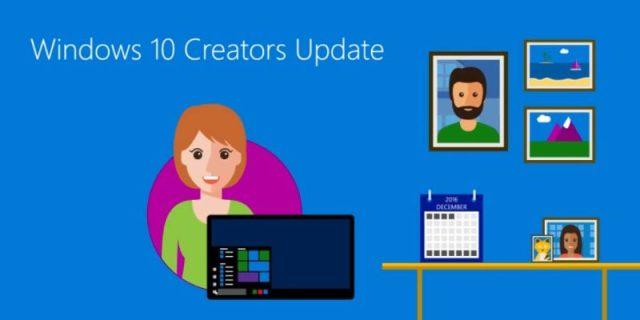 Windows diez Creators Update