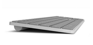Microsoft Modern Keyboard por el lateral