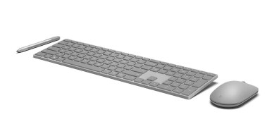 Microsoft Modern Keyboard por delante