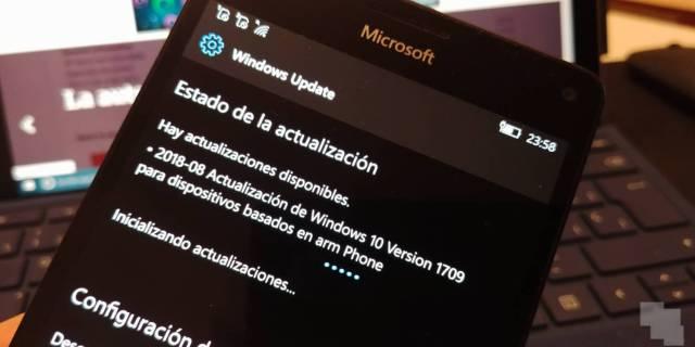 Windows diez Mobile Build 15254.527