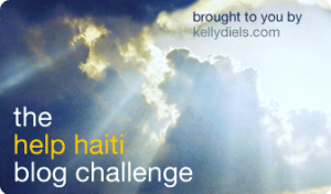 Join the Help Haiti Blog Challenge