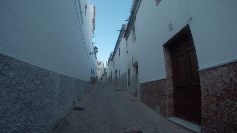 Engen Straßen von Ardales
