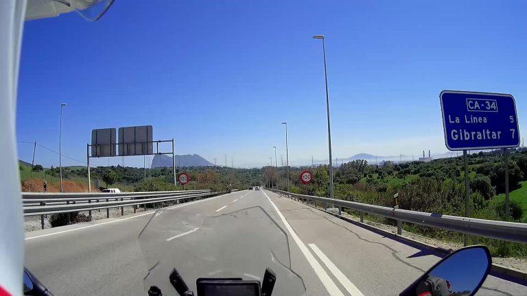 7 Kilometer vor Gibraltar