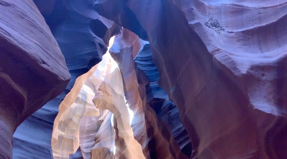 Motorradtour Antelope Canyon