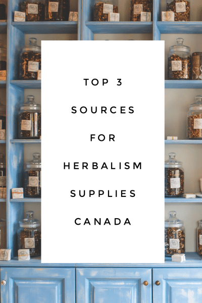 Top 3 Sources for Herbalism Supplies Canada (packaging +