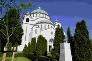 Die größte Kirche der Stadt ist noch im Rohbau