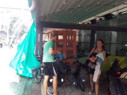 Regenstopp in Rize