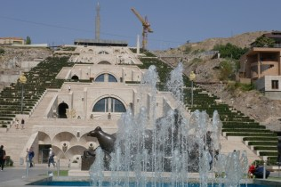 Weiteres Sowjeterbe: The Yerevan Cascade