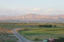 Klasse Landschaft südlich von Eriwan