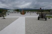 Gedenkstätte zum Krieg mit Aserbaidschan 1992 - 94