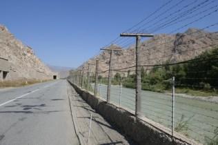 Der Fluss beschreibt den Grenzverlauf