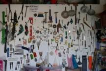 Noch nie in meinem Leben habe ich solch eine aufgeräumte Garage gesehen. Hammer