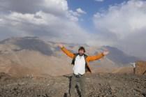 Wanderung auf 3700 m im Skiresort Dizin