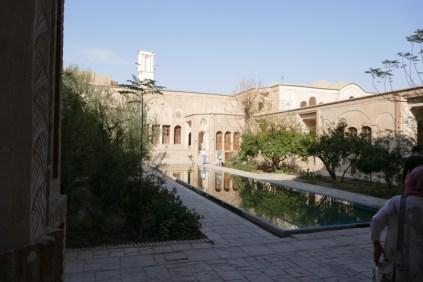 Borujerdi House: Repräsentativer Prachtbau eines reichen Geschäftsmanns aus dem 19. Jhd.in Kashan