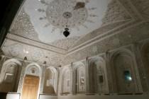 Schön anzusehen: Dekoration im Khan-e Lari-Park