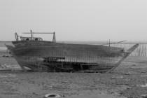 Traditioneller Bootsbau ist auf der Insel noch präsent: Hier ist eine Grundüberholung angebracht.