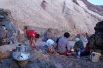 Chillen am Strand von Hormuz